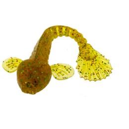 Edible silicone bait Fanatik, Goby 3,5'-85mm (pack 5pcs) color 009
