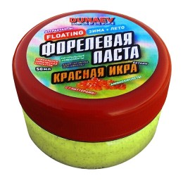 Pasta Dunaev 50ml Trout Red Caviar Yellow