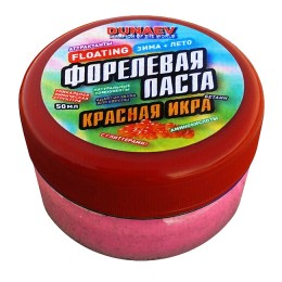 Pasta Dunaev 50ml Trout Red Caviar Red