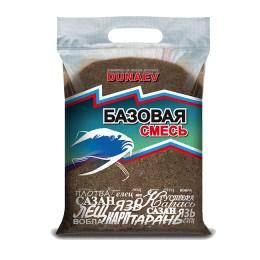 """Bait """"DUNAEV Basic mix"""" 2.5kg Black"""