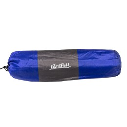 The self-inflating mat is wide, single