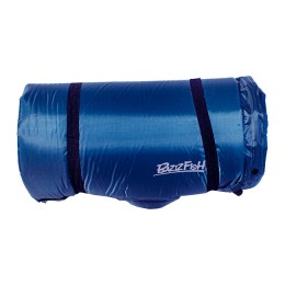 The self-inflating mat is wide, three-sleeping