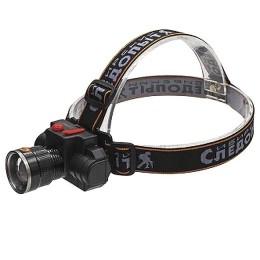 "Headlamp ""Siberian Pathfinder Impulse"", 1 LED, rechargeable battery. 220V, USB / 120"