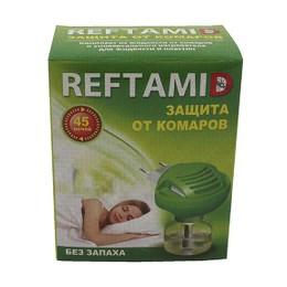 "Репеллент ""Рефтамид"" комплект фумигатор+флакон с жидкостью, 45 ночей, без запаха"