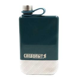 "Flask ""Pathfinder - Green Edition - Traveler »green, 240 ml, steel"