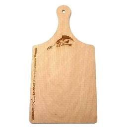 Wooden chopping board 180х6х350 mm, with handle