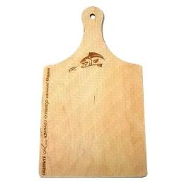 Wooden chopping board 210х6х370 mm, with handle