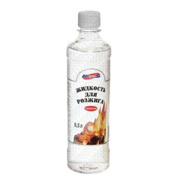 """Campfire ignition fluid """"RUNIS"""" with dispenser, 0.5l."""