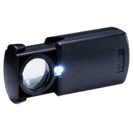 """Illuminated magnifier """"Pathfinder"""", magnification 30 x, d l. 21 mm, with a set. batteries, weight 31 g"""