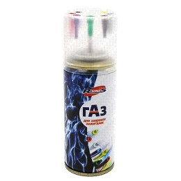 Gas for RUNIS Premium lighters, threw. cylinder, 140 ml (with adapters)