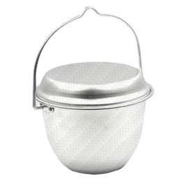 "Campfire pot ""Pathfinder"" conical, 2.5 l, alum."