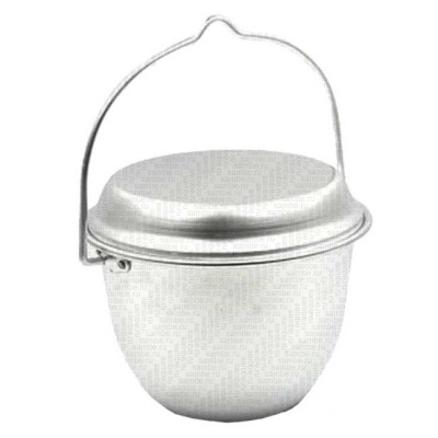 "Campfire pot ""Pathfinder"" conical, 2.5 l, alum., article Z0000010412, production Следопыт (Россия)"