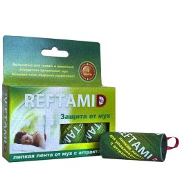 """Adhesive tape """"Reftamide"""" from flies (4 pc.)"""