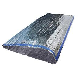 "Thermal bag ""Pathfinder"", 90x210 cm, silver"