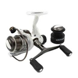 Spinning reel Namazu White Fish WF2000, 4 + 1 bearing, metal. spool + spare graphite. spool
