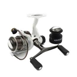 Spinning reel Namazu White Fish WF3000, 4 + 1 bearing, metal. spool + spare graphite. spool