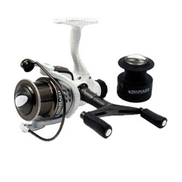 Spinning reel Namazu White Fish WF4000, 4 + 1 bearing, metal. spool + spare graphite. spool