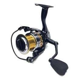 Spinning reel Namazu PRO Alligator NEW AL4000, 5 + 1 bearing, metal. spool + spare graphite. spool