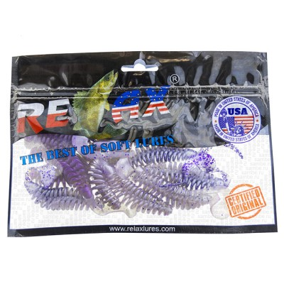 """Twister RELAX TURBO 5 """"(12.5cm) 10 pieces, model TRT5-TL283, from: Relax (США)"""