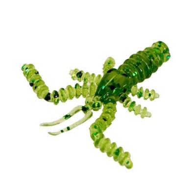 Mosquito 3,5cm, shrimp (Color 17, Kiwi) 14pcs, from: Русская Фишка (Россия)