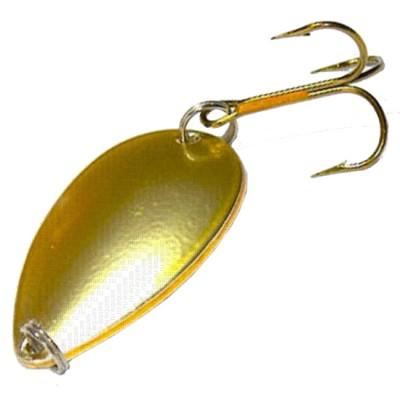1002/4 Lure SPIKE Spoon., 20g. (pack 5pcs) matt gold, from: Spike