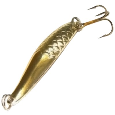1016/3 Spoon SPIKE Fish, 12g. (Pack of 5 pcs) glossy gold, from: Spike
