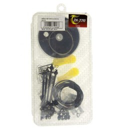 A set of carp accessories JINTAI (leashes, beads, stoppers,clips, bushings)