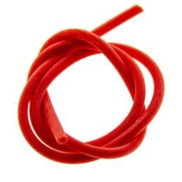 Rubber nipple tube RED length 40 cm, diameter 3 mm