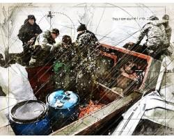 Работа рыбохраны по вопросам браконьерства